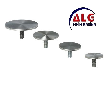 stainless flange glass accessory