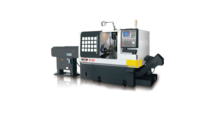 HUMMER T-42 Cnc Automatic Lathe - C and Y AXIS